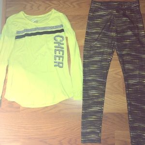 Justice outfit Cheer size 14